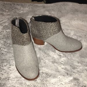 *only worn once!* Toms booties
